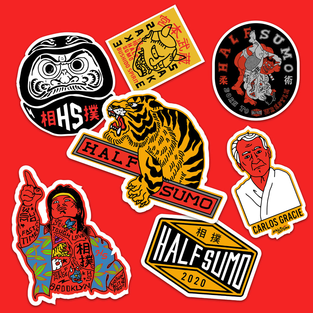 Tigre Sticker Set