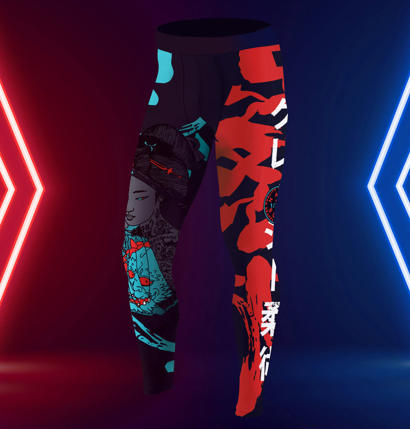 Tokyo Neon Spats for Women