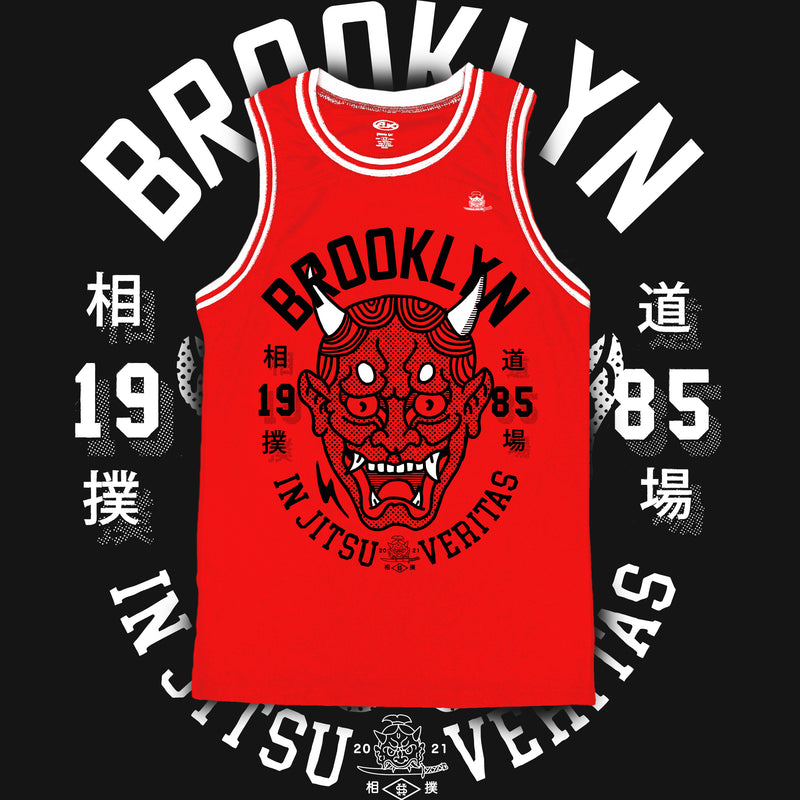 Jiu-Jitsu Veritas Tank Top Red