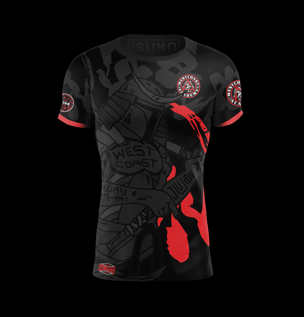 West Coast Rashguard Short Sleeve