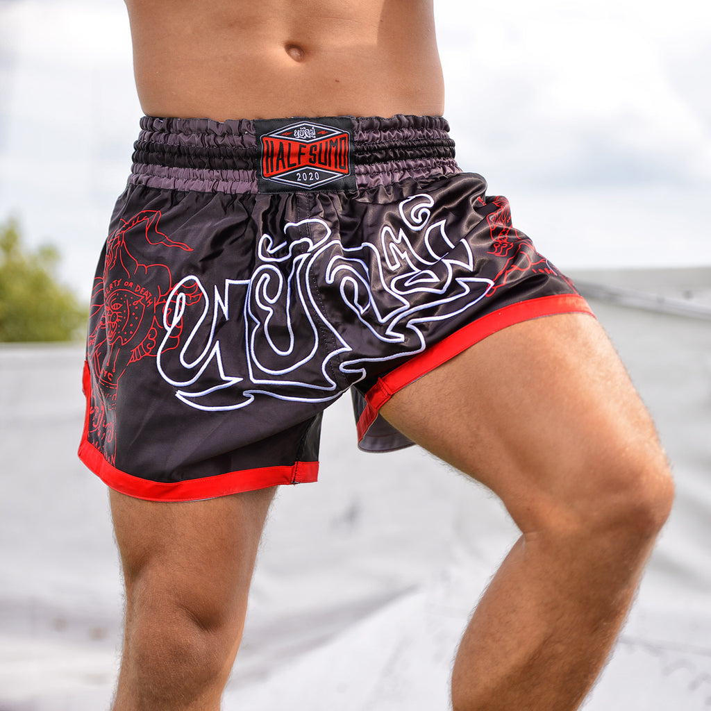 White Tiger Muay Thai Shorts