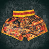 8 Limbs Muay Thai Shorts Fire Red