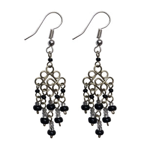 Wire Diamond Mini Earrings