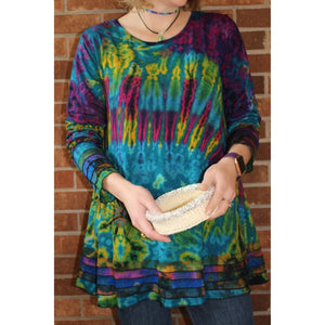 Tie Dye Layered Thai Tunic