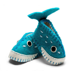 Whale Zooties Baby Booties