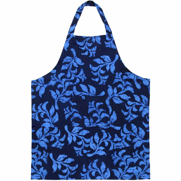 Apron - Blue Hanging Ferns - Global Mamas (A)