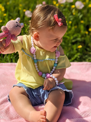 Girls Bubble Necklace and Bracelet Set