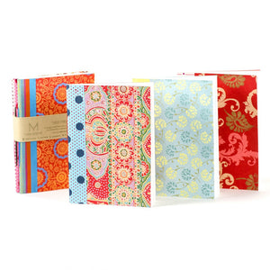 Handmade Set of 3 Ida Travel Journals