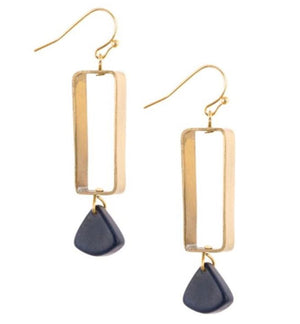 Tagua Belgrano Earrings