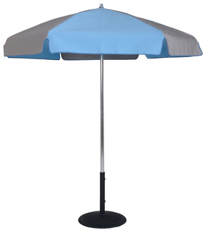 6.5 Ft Commercial Umbrella with Steel Ribs and Aluminum center pole