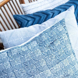 Temple Indigo Pillow
