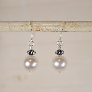 Handmade Herat Pearl Earrings