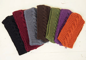Knitted Headbands from Albania
