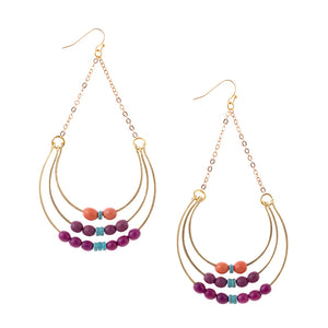 Handmade Achira Earrings