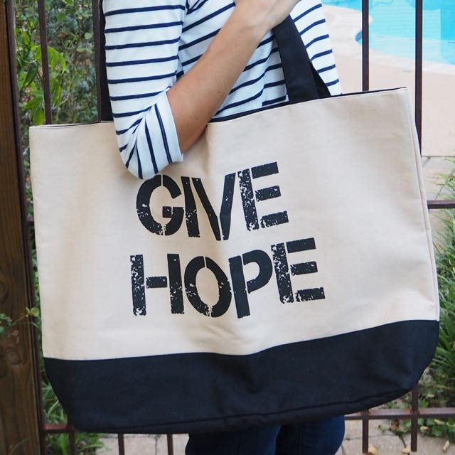 """Give Hope"" Tote Bag"