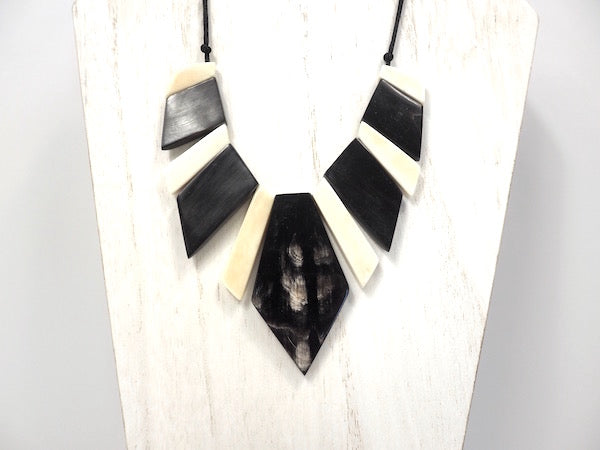 Handmade African Zebu Necklace