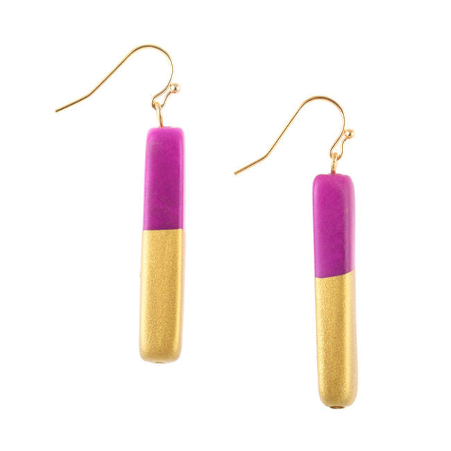 Handmade Ora Bar Earrings