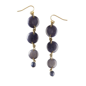 Handmade Piedra Drop Earrings