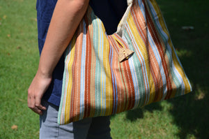 Natural Dye Bucket Tote