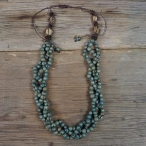 Achira Seed Necklace