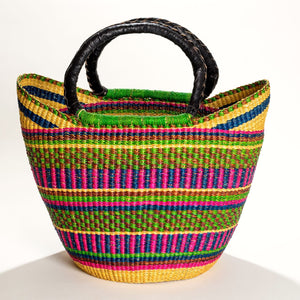 Large Woven Market Tote