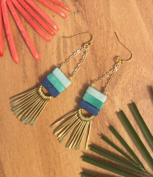 Handmade Pila Earrings