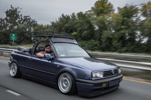 Henry - Golf Cabriolet right hand drive conversion