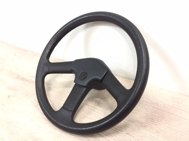 OEM European 3-Spoke Steering Wheel