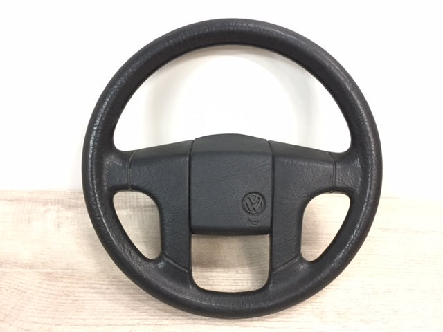 "OEM European ""H-Style"" 4-Spoke Steering Wheel"