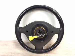 OEM Mk3.5 European Leather 3-Spoke Steering Wheel