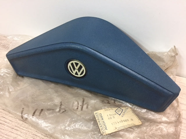 NOS Mk1 Blue Steering Wheel Center / Horn Button