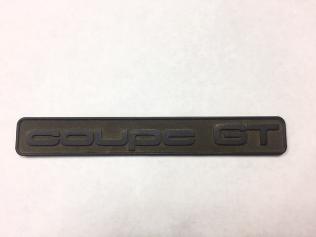 Audi OEM Coupe GT Badge