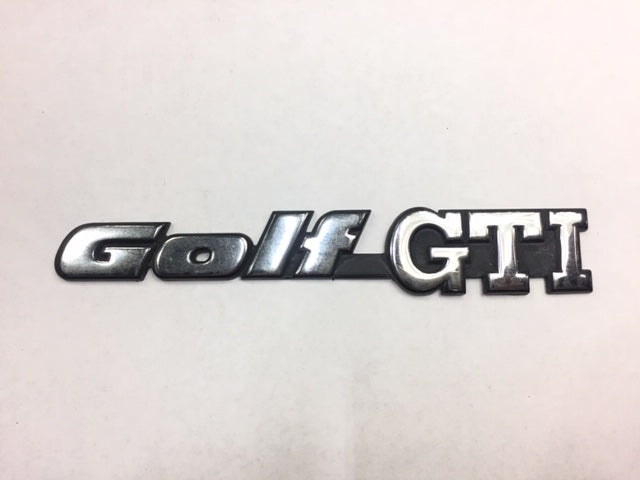 Mk3 OEM Golf GTI Badge