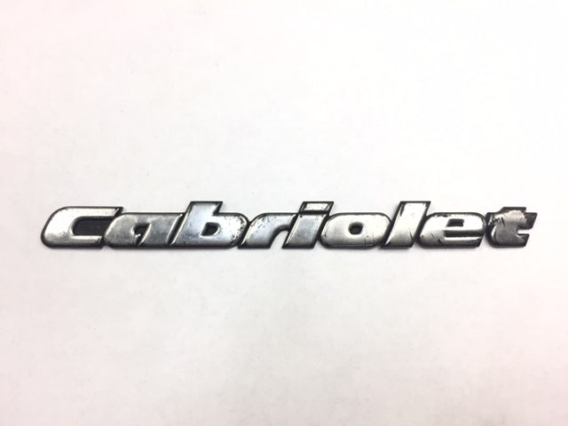 Mk3 OEM Golf Cabriolet Badge