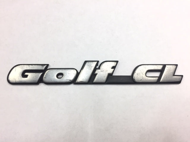 Mk3 OEM Golf CL Badge