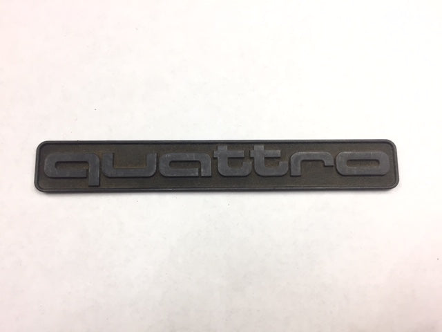 Audi OEM Quattro Badge