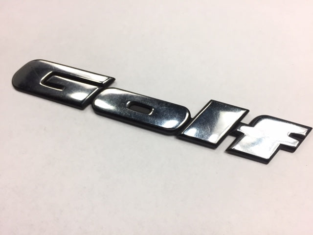 Mk3 OEM Golf Badge