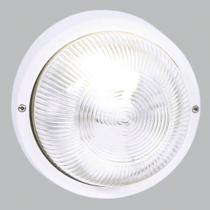 BH021 White Round Plain Bulkhead - Mi Lighting