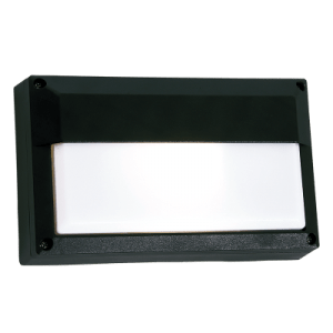 BH074 Black Rectangle Eyelid Bulkhead - Mi Lighting