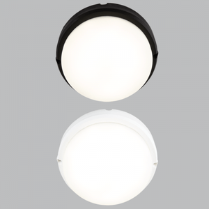 Load image into Gallery viewer, BH125 Black/White Round Plain Bulkhead - Mi Lighting