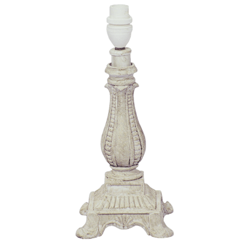 BTL9303 CREAM STONE Resin Table Lamp - Mi Lighting