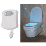 BRIGHT STAR - LED TOILET LIGHT WITH MOTION SENSOR