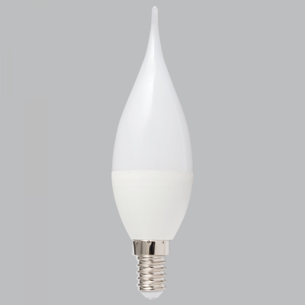 BRIGHT STAR - FROSTED LED FLAME BULB 5W 4000K (BULB LED 100)