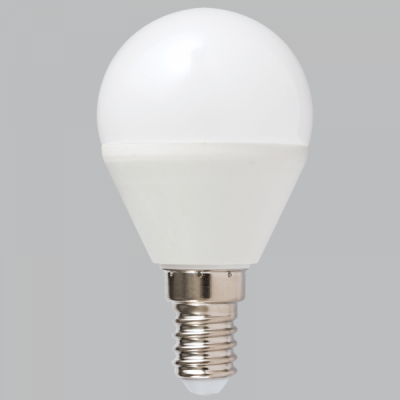 BRIGHT STAR - FROSTED GOLF BALL LED BULB 4000K