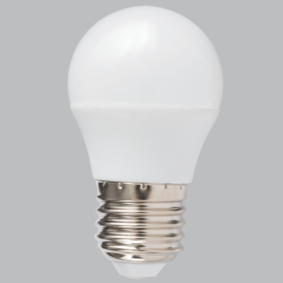BRIGHT STAR - FROSTED GOLF BALL LED BULB 2700K