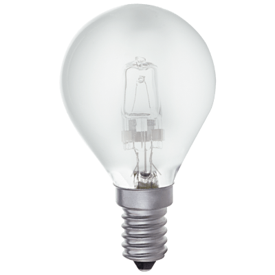 BRIGHT STAR - HALOGEN FROSTED GOLF BALL BULB 42W 2700K (BULB 705)
