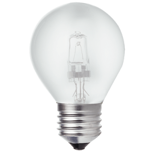 BRIGHT STAR - HALOGEN FROSTED GOLF BALL BULB 42W 2700K (BULB 706)