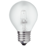 BRIGHT STAR - HALOGEN FROSTED GOLF BALL BULB 2700K