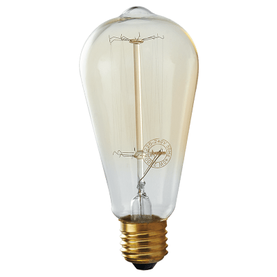 Load image into Gallery viewer, BULB 715 Amber Carbon Filament Lantern Bulb - Mi Lighting
