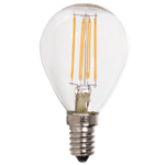 BRIGHT STAR - CLEAR FILAMENT GOLF BALL LED BULB 4W 2700K (BULB LED 153)